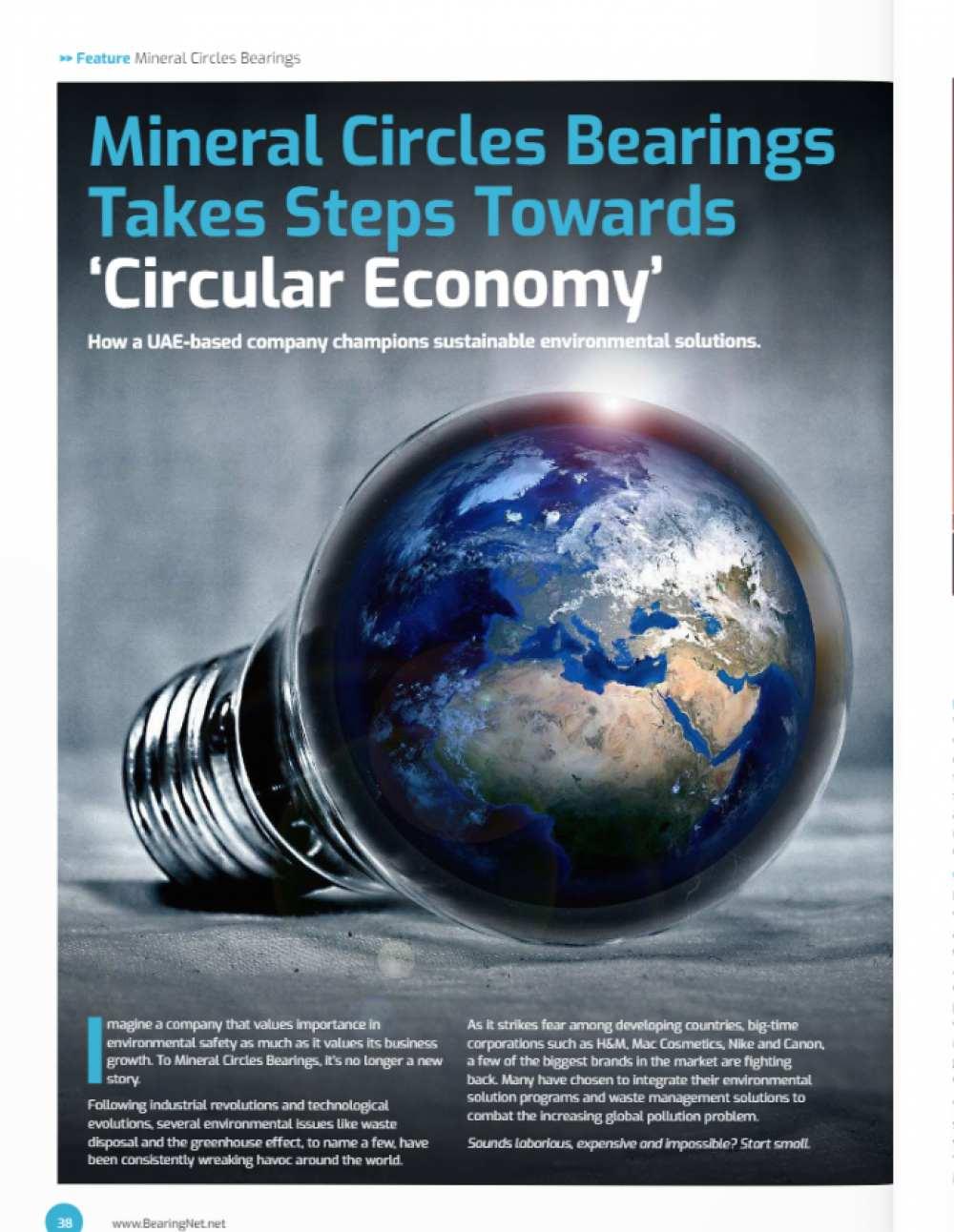 Mineral Circles Takes Steps Towards Circular Economy
