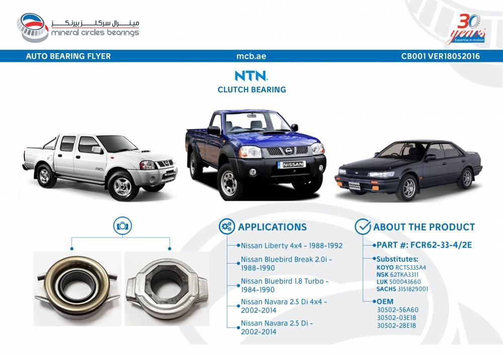 Feature of the Week: NTN Clutch Bearing