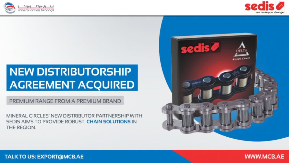 Mineral Circles' New Distributor Partnership With SEDIS Aims To Bolster Industrial Chain Solutions In The MEA