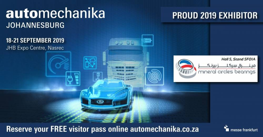 In September, MCB will return to Automechanika Johannesburg to commemorate its 35th anniversary