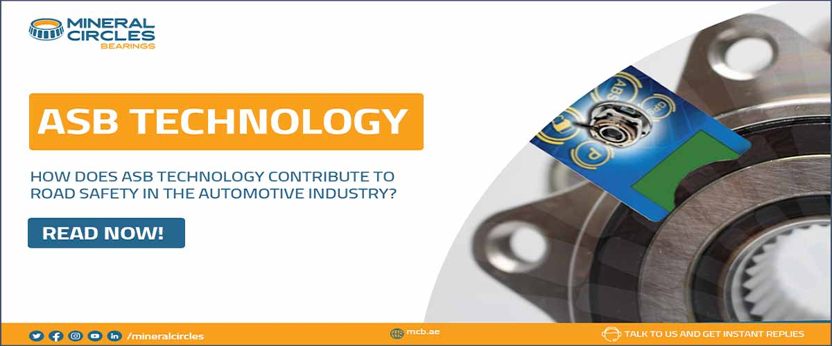 How does ASB bearing technology contribute to road safety in the 2021 Automotive industry?